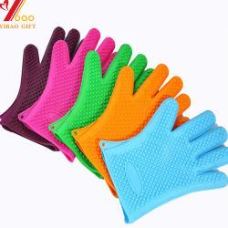 Commerce de gros de la magie des gants de vaisselle multi fonction avec l'épurateur gants réutilisables de nettoyage à base de silicone Scrub pour laver, cuisine, vaisselle Bathroo (YB-G-2)