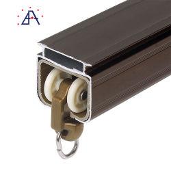 Commerce de gros de bonne qualité en aluminium des tringles à rideaux avec supports