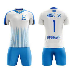 Spätester neuer Entwurfs-Farben-Sublimation-Polyester Futbol Fußball-Breathable Polyester-Gewebe 100%
