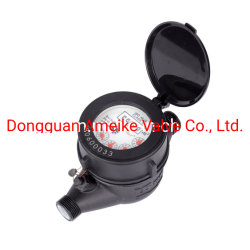 Nylontrockenes Vorwahlknopf Multi-Strahl Wasser-Plastikmeßinstrument