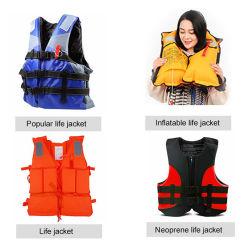 Espuma EPE/almofada insuflável coletes de salvação para o trabalho/lazer Vida Segurança Vest OEM