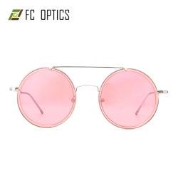 Ronde en métal polarisés Rim nouvelle célèbre marque lunettes cadre Lunettes de soleil Lunettes de sécurité