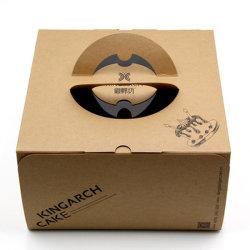 Preiswerter heißer Verkauf fertigen den Tierpapierkasten-Gelb-Sammelpack-Kuchen kundenspezifisch an, der Plastikkasten verpackt