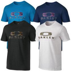 O-Stutzen-T-Shirt der Männer des Fabrik-Zubehör-Fantasie-Qualitäts-der Baumwolle50% Polyester-50% mit Ihren Selbst Entwurfs-Shirt-Drucken