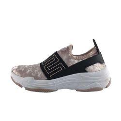 2019 plataforma Chunky Damas Zapatillas casual resbalar, dama moda Sneakers Zapatos de gamuza personalizado de la mujer, Wedge Sneakers zapatos de mujer