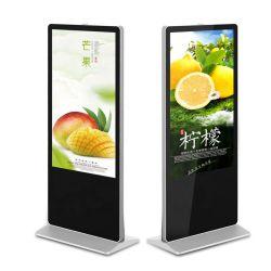 4K UHD 접촉 스크린 간이 건축물 다중 미디어 플레이어를 광고하는 수직 디지털 Signage