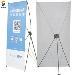 Formato standard 60*160/80*180cm, bandiera del basamento della bandiera visualizzazione esterna/dell'interno X di vendita calda di promozione X
