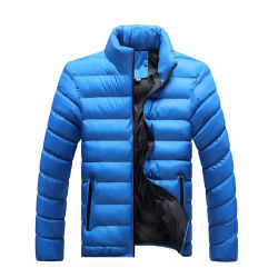 Katoenen van de Winter van de Mens van de douane Warm Opvullend Jasje