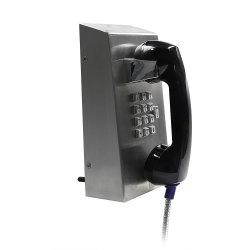 Telefone VoIP prisão robusto resistente a vandalismo Visitação Detento Prisão Phone
