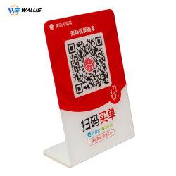 Plástico acrílico folha a folha de PVC para dobrar pagar Assinar Board