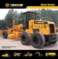Оборудование для снятия почвы 10т мини Автогрейдер 130HP грейдера дорожного движения