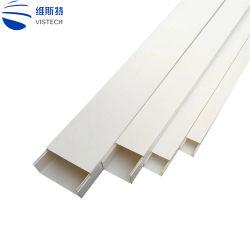 PVCプラスチック電気正方形チャネルPVCケーブルの導通