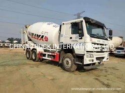 Usa HOWO Concrcete Camión Mezclador de 9m3 HOWO camiones tanque mezclador