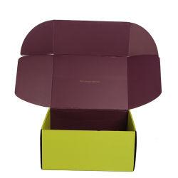 맞춤형 상자 재활용 종이 케이스 접이식 골판지 상자