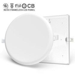 Indicatore luminoso messo ultra sottile di alluminio della lampada LED dell'indicatore luminoso di comitato dell'indicatore luminoso di soffitto di RoHS 9W 18watt 24W 36W dei CB del Ce di TUV del PC del ODM dell'OEM di Keou 18W Frameless LED