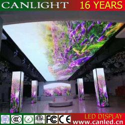 Joyeux Noël créatif plafond Mur vidéo de l'écran à affichage LED pour l'hôtel et l'étape Contexte