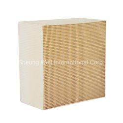 Exportador profesional de panal de miel substrato cerámico catalizador utilizado para el alquiler de silenciador de escape de Manufactura China