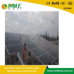 사우디 아라비아 옥외 태양 가로등을%s 120wattage 태양 전지판 200ah 건전지 고품질 재충전용 LED