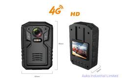 Polizei-Karosserie getragene Kamera mit 4G, WiFi, GPS