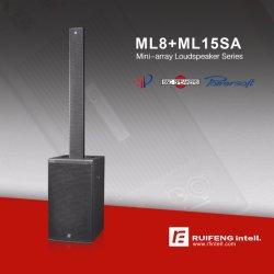 PRO audio piccola riga di colonna attiva dell'altoparlante professionale sistema dell'altoparlante di schiera audio
