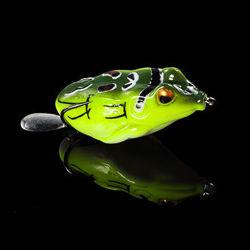 Disco pescar atrai Frog na bolsa de plástico ABS