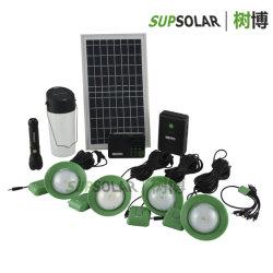 Bewegliches Aufladeeinheits-Radiokabel-Solar Energy Hauptinstallationssatz genießen
