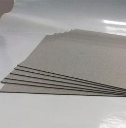 1mm, 1.5mm, 2mm, 3mm Gelamineerde Grijze Raad/Grijs Karton/Grijze Spaanplaat