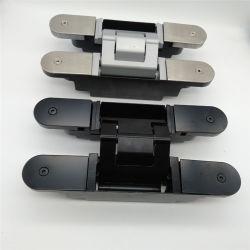 (مفصلة الباب الخفية/غير المرئية في تصميم ألمانيا، قابلة للضبط ثلاثية الأبعاد، فضية