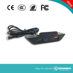듀얼포트 사다리꼴 테이블 USB 충전기 유형 a+C
