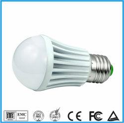 E27 85-265 V 3000K/9W 6500K Luz aluminio LED Lámpara de iluminación