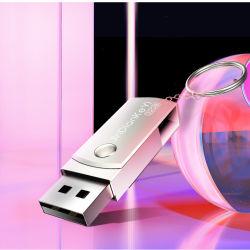 Faire pivoter le métal Stick USB OEM Lecteur Flash USB rotatif métallique
