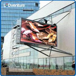Comercio al por mayor frente al aire libre de alto brillo LED Display de mensajes de acceso trasero