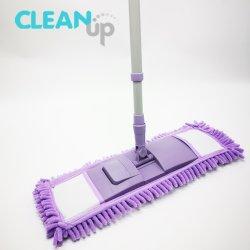 Heißes verkaufenfußboden waschbares Microfiber Chenille, das flachen Mopp faltet