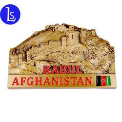 Stadt-Afghanistan-Metallandenken-Förderung-Geschenk des Kühlraum-Magnet-3D Kabul