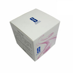 Double Tuck bb du papier blanc crème Emballage d'impression personnalisée