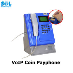 Payphone van het muntstuk GSM van de Kaart van de Desktop SIM van Producten Draadloze Telefoon