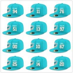 Comercio al por mayor de los delfines personalizado equipado Hat Gorra Snapback