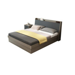 Moderne Schlafzimmer-Möbel-einzelnes pneumatisches Latte-Bett