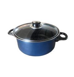 La couleur bleue Non Stick Ustensiles de cuisine casserole