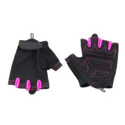 Halber Finger-Gleitschutzhandschuhe, die Motorrad-Sport-Straßen-Zoll-komprimierende Handschuh-Fahrrad-Handschuh-Breathable Sport-Handschuhe laufen