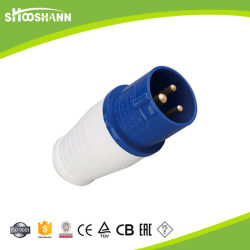 IP67 Potência Water-Proof masculino 125 Amp Bujão Industriais