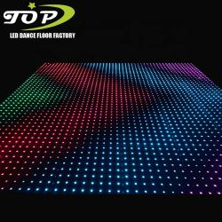Discoteca/Club/DJ/Eventos LED de cores RGB de Design Portátil Digital de casamento de Dança