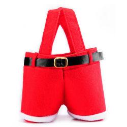 Venda por grosso de alta qualidade elegante Holiday Saco de Natal presente de Natal Candy Bag