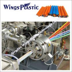 Пнд гофрированные оптического распределительного воздуховода производственной линии / Cod трубопровода выдавливание машины