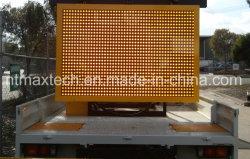 Faible consommation d'énergie multi de couleur de support de camion de trafic téléphonique d'animation variable de signe