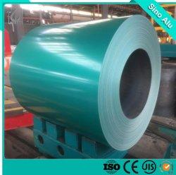 Bobina de alumínio Prepainted fabricante de material de construção de coberturas