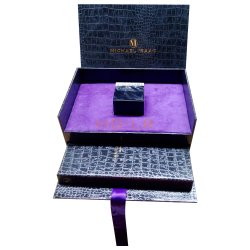 贅沢なCustomziedの木の包装のギフト用の箱