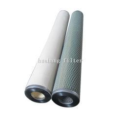 Fibra de importação líquidos de óleo filtro coalescente mídia porosa do filtro do separador