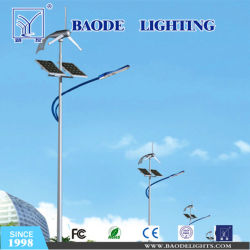 Poste de acero de 6m 70W LED de luz solar calle (bdtyn-a2).