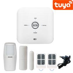 + WiFi tuya GSM Sistema de Alarme inicial com a função de controle do aparelho doméstico (ES-JT-10GDT)